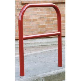Arceau renforcé galvanisé coloris rouge