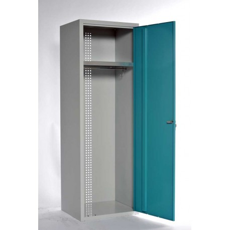 armoire collectivit s penderie en m tal largeur 60 cm. Black Bedroom Furniture Sets. Home Design Ideas